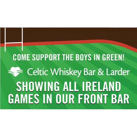 Ireland 6 Nations Games at Celtic Whiskey Bar & Larder