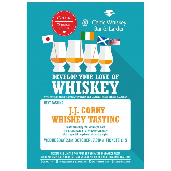 J.J. Corry Whiskey Tasting