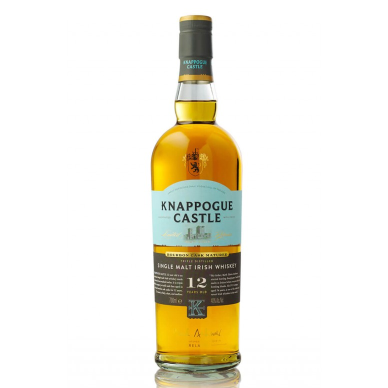 Knappogue Castle 12 Year-Old Single Malt Old Label