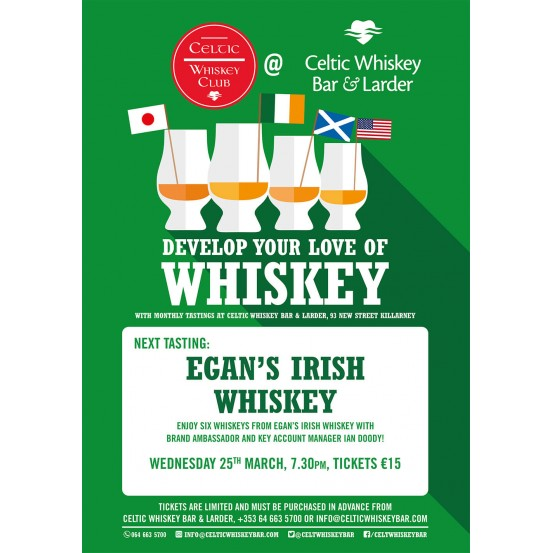 Egan's Whiskey Tasting