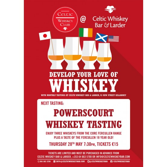 Powerscourt Whiskey Tasting
