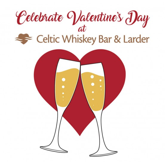 Celebrate Valentine's at the Celtic Whiskey Bar & Larder
