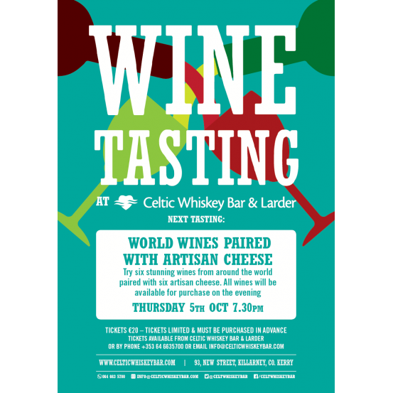 World Wines Paired with Artisan Cheese Tasting